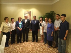 Vietnamese dissidents met with the Vice-Chancellor of Germany